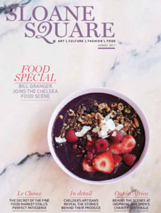 Sloane Square Magazine August 2017 Cover