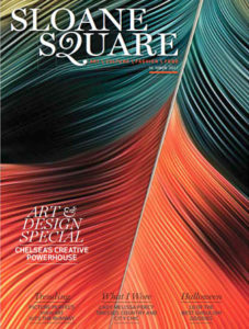 Sloane Square magazine October 2017 cover